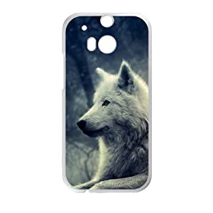 Canting_Good,wolf, Custom Case for HTC One M8 (Laser Technology)