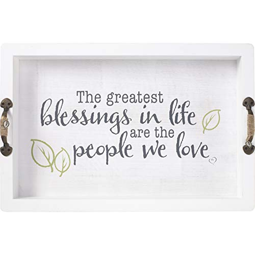 Precious Moments 191418 Greatest Blessings Tray Cream/Green