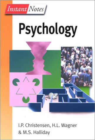 Instant Notes Psychology