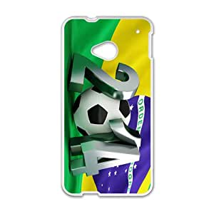 NICKER FIFA World Cup Brazil 2014 Cell Phone Case for HTC One M7