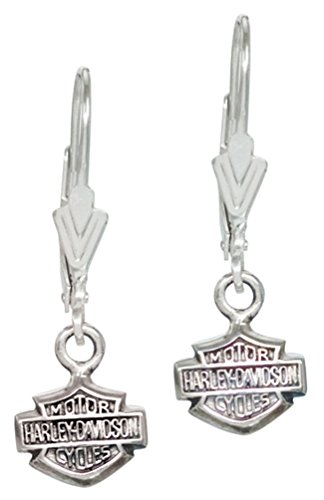 Harley-Davidson Women's Bar & Shield Dangle Earrings HDE0088