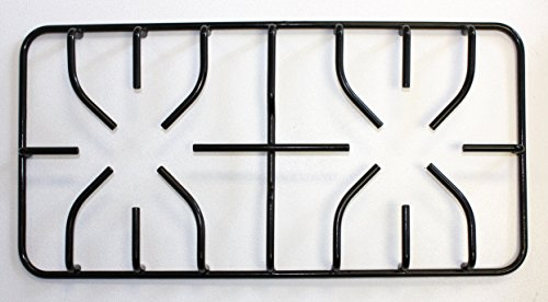 GRP DOUBLE BURNER GRATE, BLACK Replacement for GENERAL ELECTRIC Part # WB31K10169
