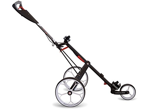 Concourse CBM3 Golf Push Cart Trolley, Compact, Foldable Design -