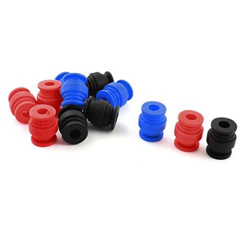 8 Pcs 8mm x 20mm Rubber Damping Ball for Hero Gopro2 Gopro3 Camera