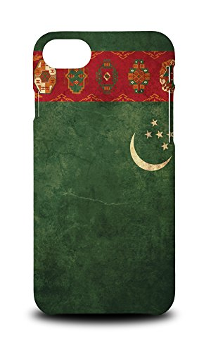 Foxercases Design Turkmenistan Country Flag Hard Case Cover For iPhone 8