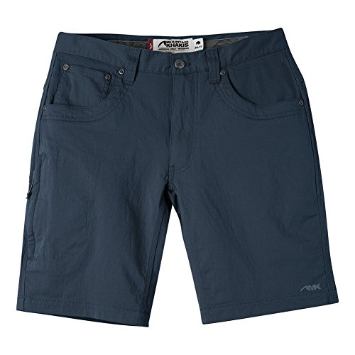 Mountain Khakis Men's Commuter Short Slim Fit, Navy, 34W ()