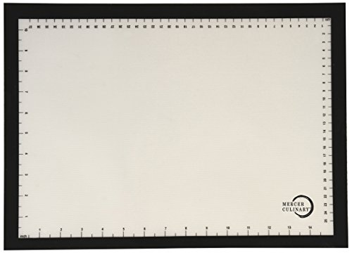 Mercer Culinary Silicone Bake Mat with Black