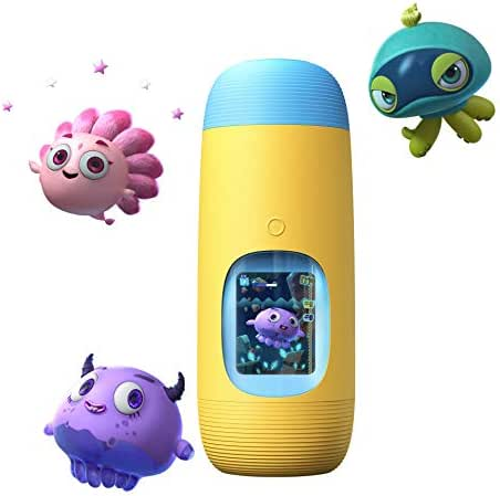 Gululu The Interactive Smart Water Bottle & Health Tracker For Kids (Submarine Yellow)