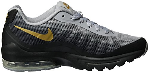 Nike Air Max Donne Invigor Impronta Di Scarpa Running Nero / Metallic Gold