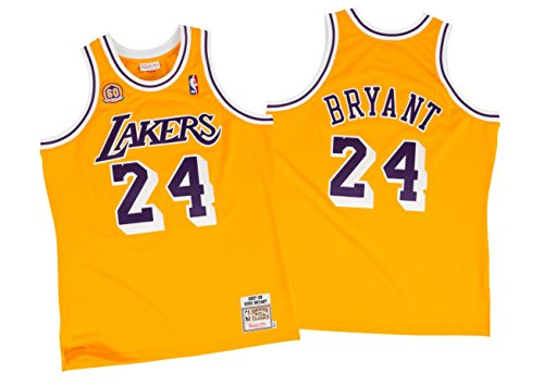 2007 All Star Jersey (Kobe Bryant Los Angeles Lakers #24 NBA Men's 2007 Authentic Jersey (XXlarge (52)))