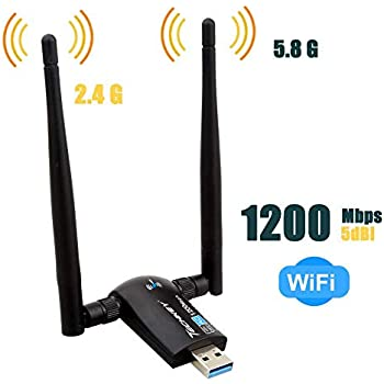 Amazon.com: TP-Link |1300Mbps USB Wifi Adapter | Dual Band ...