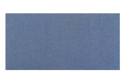 (Vinyl Fabric Covered Bulletin Boards - Wrapped Edge - Square Cornered Color Code: Blue Sky-15, Size: 1.5' x 2')