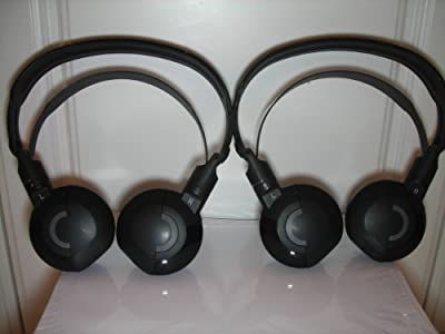 2 Honda Acura Headphones Headsets Pilot Odyssey MDX Wireless IR Headphones