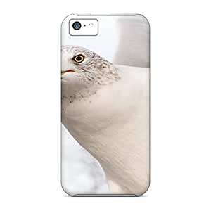 Hot Design Premium KxZsFsD-6865 Tpu Case Cover Iphone 5c Protection Case(dove Pure White Bird Hd1080p)