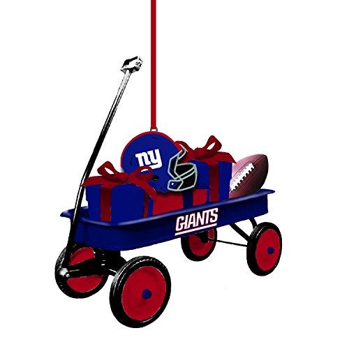 Team Sports America 3OT3820WGN New York Giants Team Wagon Ornament (Ny Giants Ornaments)