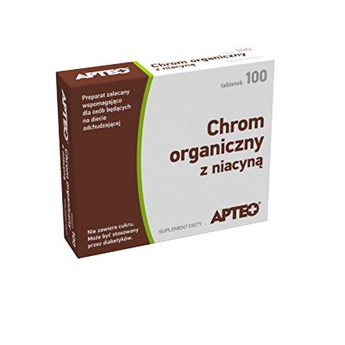 Organisches Chrom mit Niacin APTEO 100 Tabletten