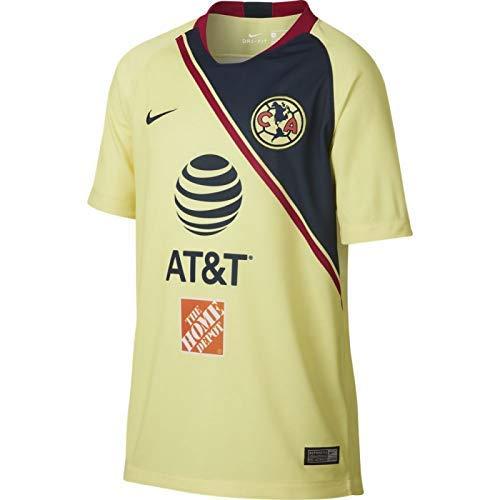 ポスト印象派マディソン受粉者Nike YOUTH Club America Home Stadium Soccer Jersey 2018-19 / サッカーユニフォーム ホーム用 ジュニア向け (US Youth Large)
