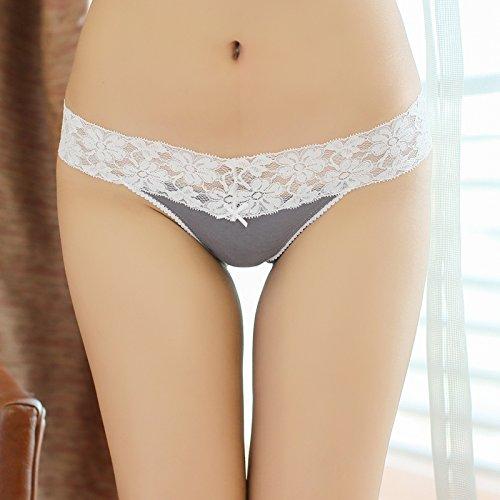 a60ebf1080 En venta RangYR Regalo De San Valentín Sexy Tanga De Encaje Ropa Interior  Pantalones De Cintura