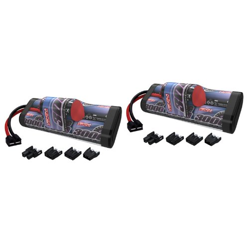 Venom 8.4V 3000mAh 7-Cell Hump NiMH Battery with Universal Plug (EC3/Deans/Traxxas/Tamiya) x2 Packs
