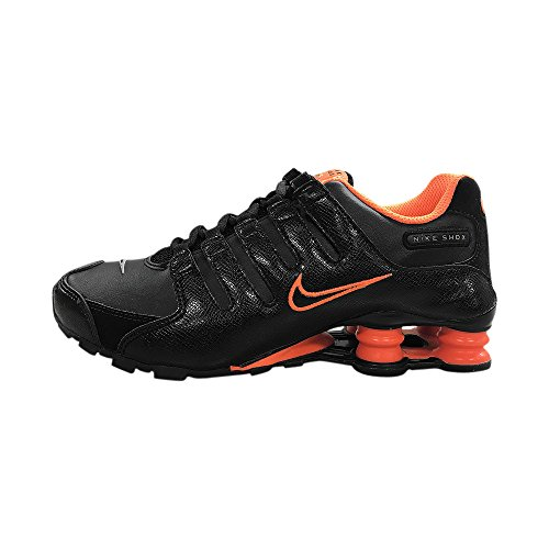 - Nike Shox NZ SI Plus (GS) Big Kid's/Junior's Running Sneaker (317929 019), 6 M Black/Red
