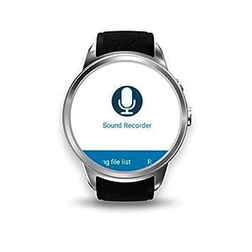 Reloj Celular con 3G Andriod 5.1 WIFI GPS GooglePlay Map Electrónico Cámara Reloj Inteligente para Hombre