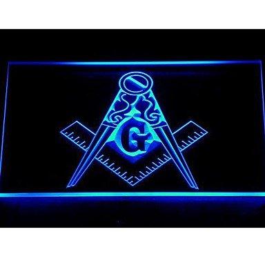 Masonic Mason Freemason Emblem Neon Light Sign (Emblem Neon Sign)