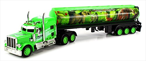 Jungle Safari Trailer Electric RC Truck Big 1:36 Scale Ready To Run RTR