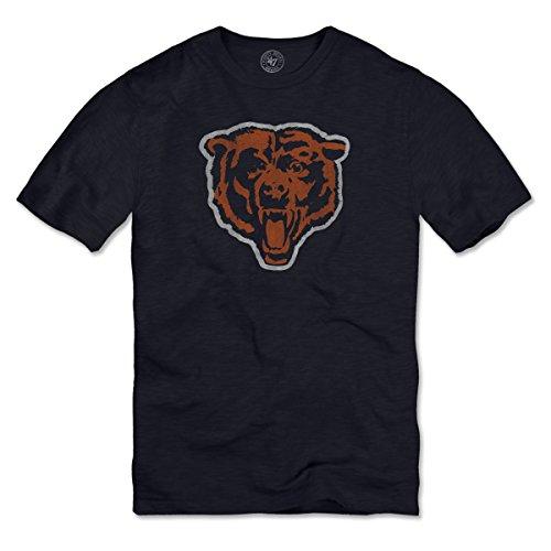 NFL Chicago Bears Men's '47 Basic Scrum Tee, Fall Navy, Small