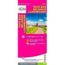 IGN /BEN01 PAYS-BAS, BELGIQUE & LUXEMBOURG - BENELUX