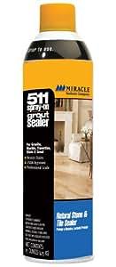 Miracle Sealants GRT SLR AERO SG 511 Spray On Grout Sealer, 15-Ounce