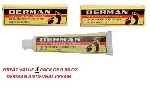 U/S/H/ Derman Cream Size .88z (Pack of 3)