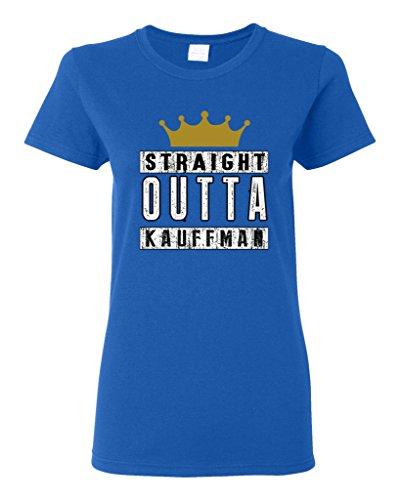 Ptshirt.com-19333-Ladies Straight Outta Kauffman Crown Baseball Sports DT T-Shirt Tee-B00XJAU5WG-T Shirt Design