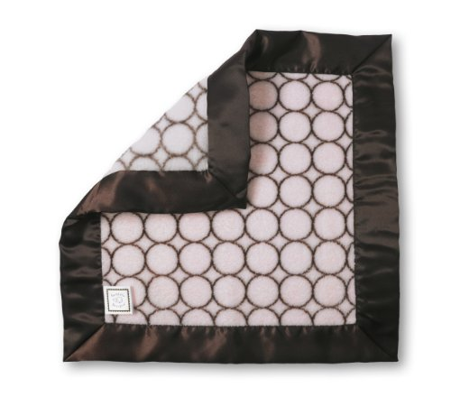 SwaddleDesigns Security Blanket Circles Pastel