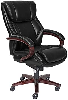 LaZBoy Bellamy Traditions Executive Office Chair (Black)