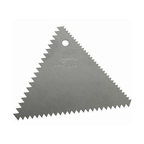 Ateco Decorating Comb Aluminum Triangle - 3 3/4
