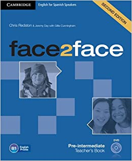 Book face2face for Spanish Speakers Pre-intermediate Teacher's Book with DVD-ROM