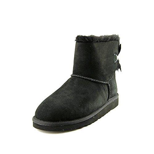 UGG Australia Girls K Mini Bailey Bow Black Winter Boot - 6