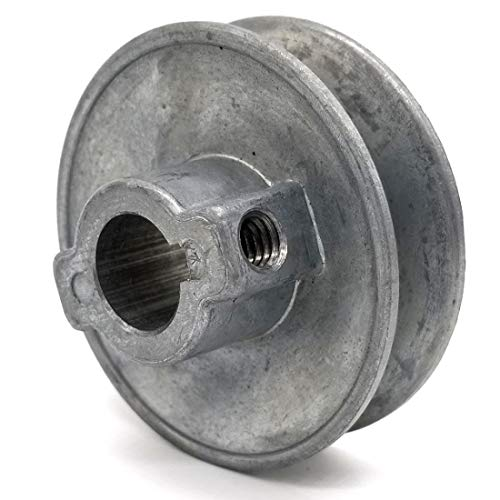V-Groove Drive Pulley - 2.5'' Dia. - 5/8'' Bore - Die ()