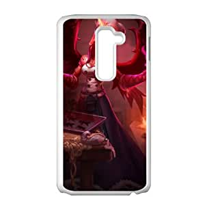League of Legends(LOL) Morgana LG G2 Cell Phone Case White DIY Gift pxf005-3574388