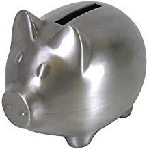 Stephan Baby Keepsake Pewter Piggy Bank