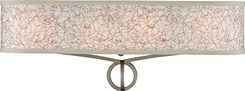 Feiss VS21204BUS Parchment Park Wall Vanity Lighting, 24