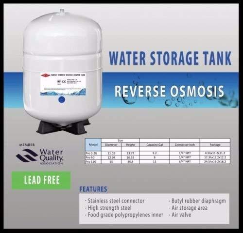 Charman Manufacturing 420005 RO Storage Tank