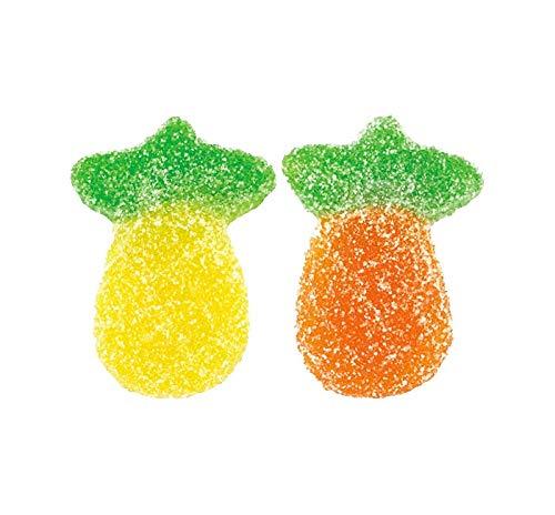 - Vidal Sour Pineapple Ananas Gummy Candy, 2.2 Pound Bag