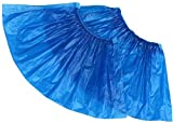 100 Pack Disposable Hygienic Shoe & Boot Covers for Construction, Workplace, Indoor Carpet Floor Protection