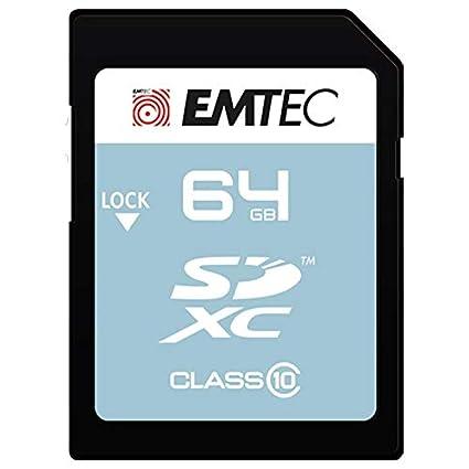 Emtec Classic Memoria Flash 64 GB SDXC Clase 10 - Tarjeta de ...