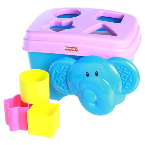 Fisher-Price Elephant Shape Sorter (Fisher Price Growing Baby Elephant Shape Sorter)