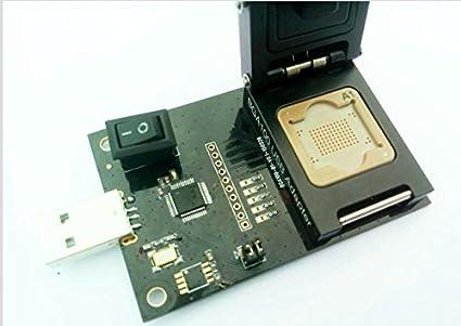 12x18mm, 14x18mm IC BGA100-USB3.0 Reader - eMMC100 Adapter USB Reader,ALLSOCKET eMMC100-USB3.0 Reader Memory Flash Storage Adapter BGA100 Programmer Tester