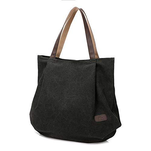 In E Girl A Bag Europa Bag LQQAZY Uniti Messenger Donna Stati Da Tracolla Borsa Borse Borsa Tracolla Tela Black A TOgqIv