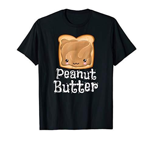 Kawaii Peanut Butter Jelly PB&J Halloween Matching Tshirts