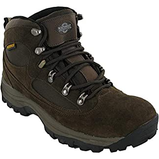 Northwest Waterproof Hiking Boots Walking Mens Kendal Lace Up Outdoor Shoes 1
